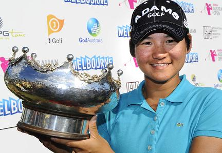 winner Yani Tseng